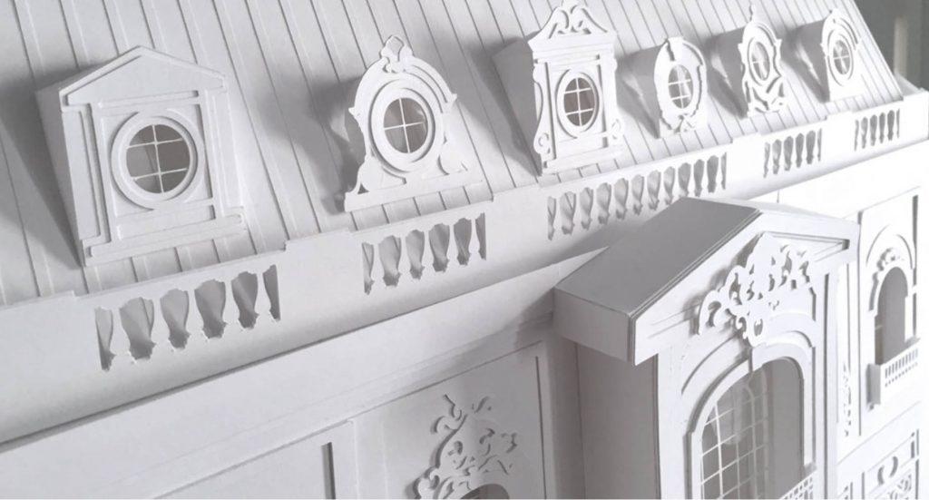 camille ortolie sculptures papier