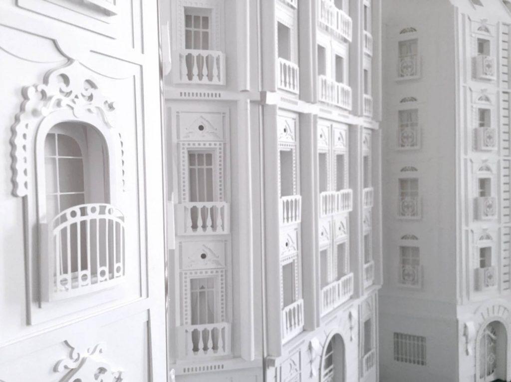 camille ortoli sculptures papier