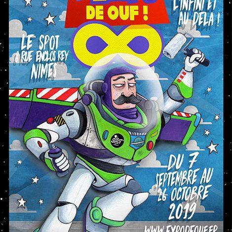 Affiche Expo De Ouf 2019