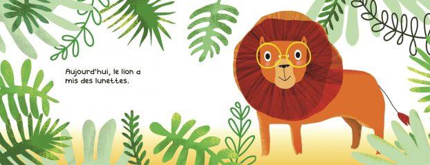 Le Lion A Mis Des Lunettes2