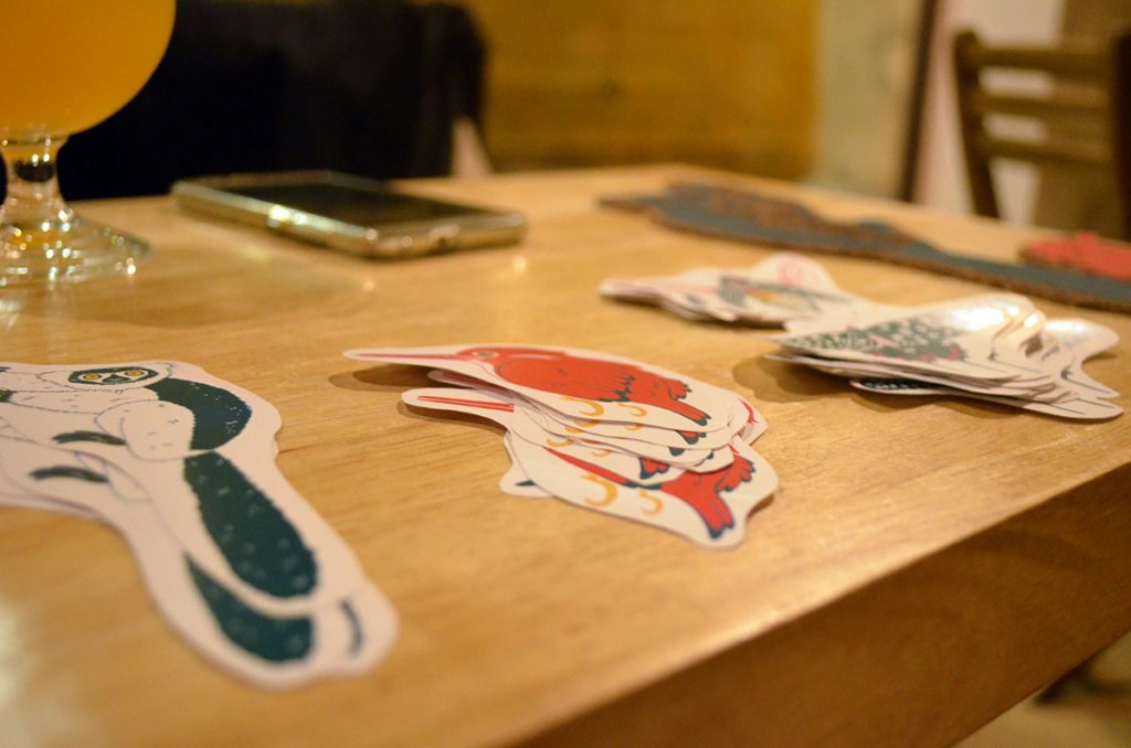 Expo Oubli Vernissage Hopulus Stickers
