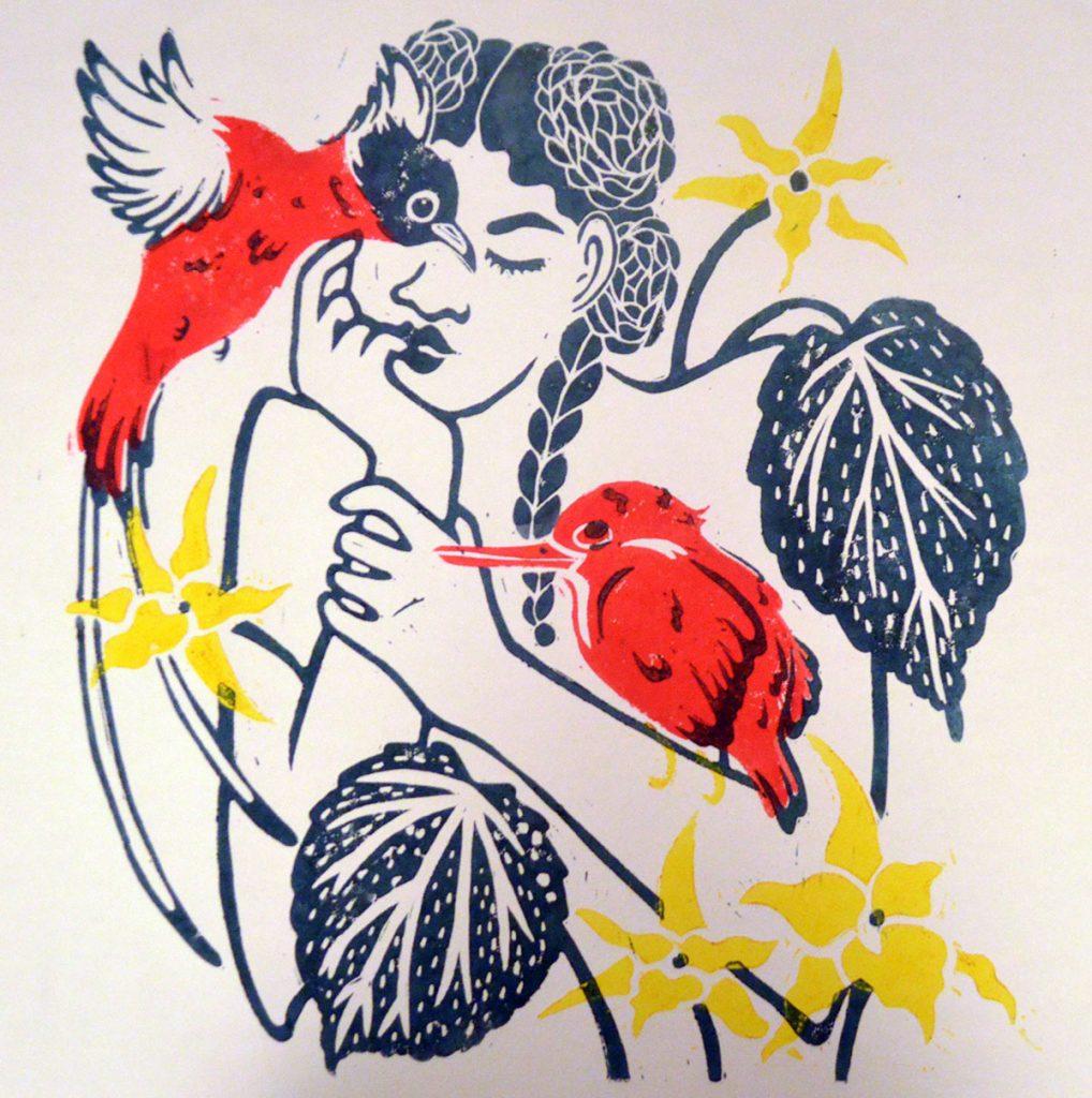 Linogravure Galerie Liana2