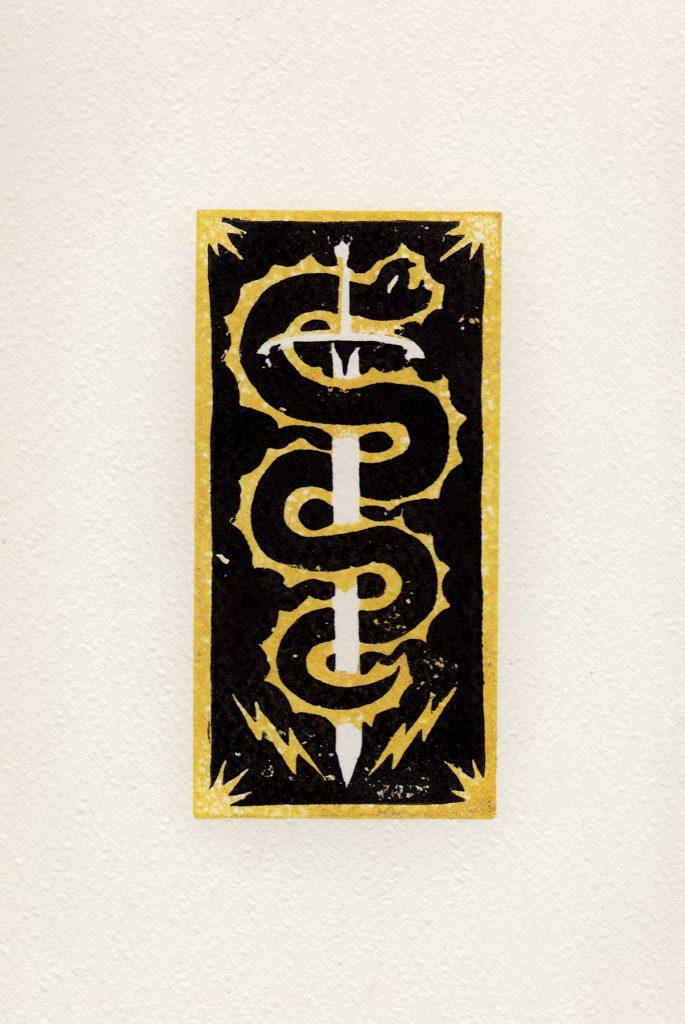 Linogravure Galerie Snake