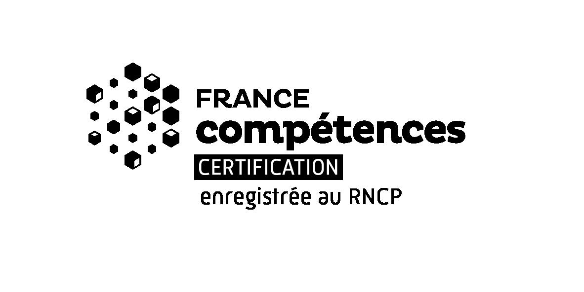 Logofc Certification Rncp Black